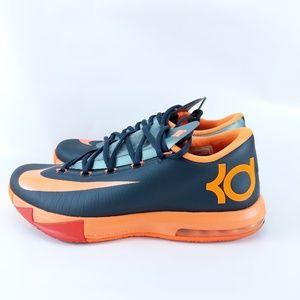 Nike KD 6 VI Anthracite Orange